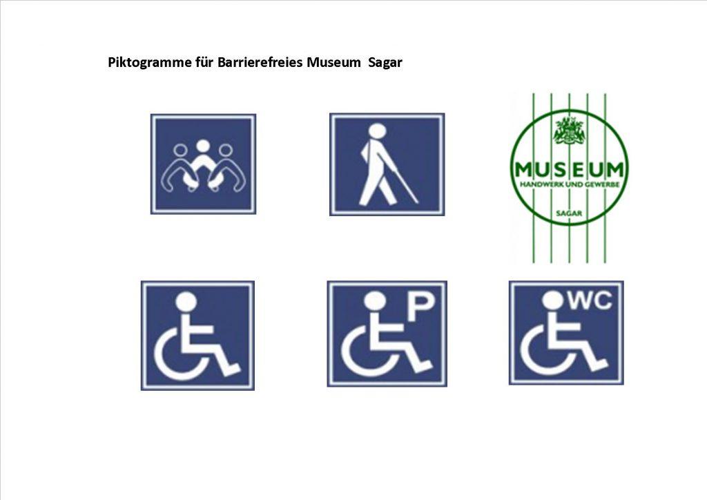 Das Museum hat einen Blindenleitpfad und eine behindertengerechte Toilette