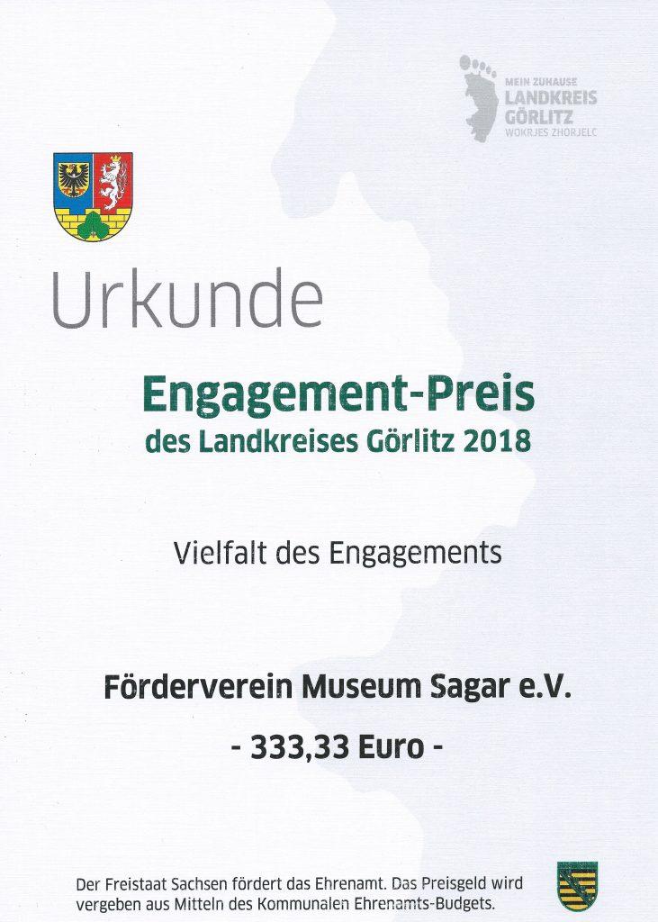 2018 Engagementspreis